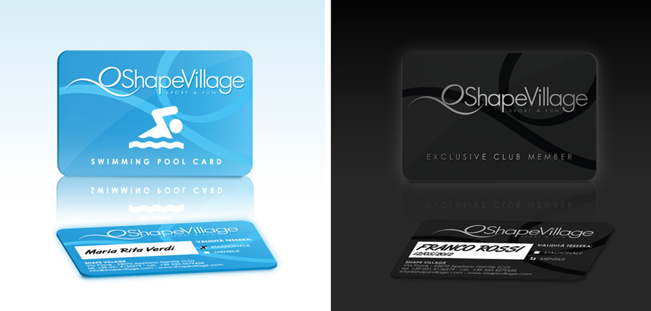 Shape Village Club Member Card